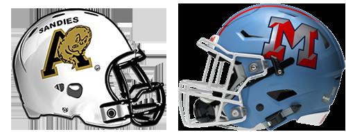 Amarillo High-Monterey helmets