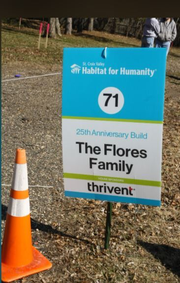 St. Croix Habitat working with Flores family