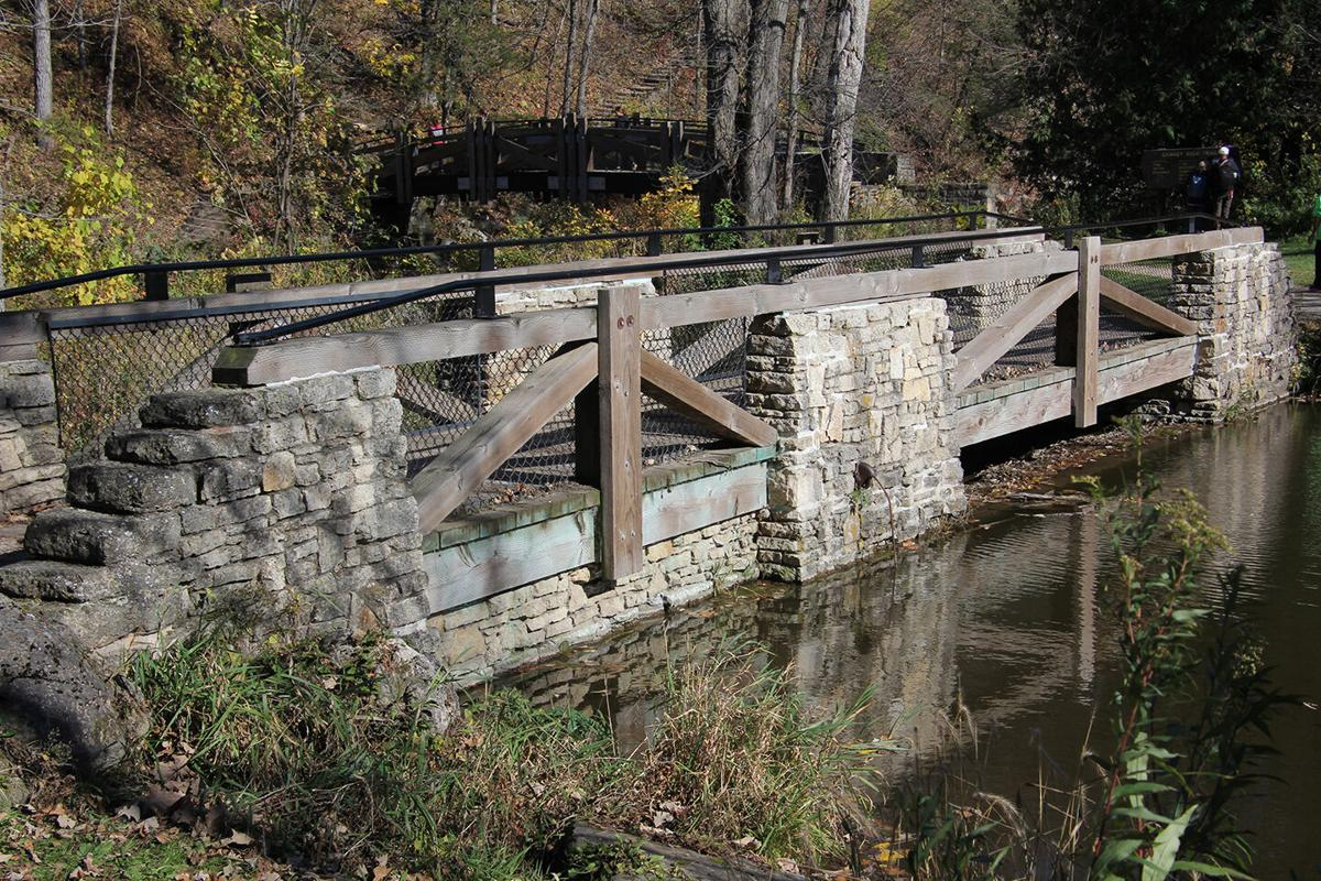 Whitewater State Park stone bridge.JPG