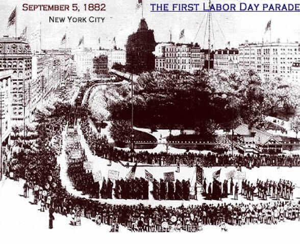 The First Labor Day