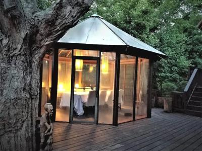 Wisconsin Treehouse Getaway cover