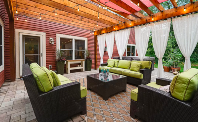Hudson, Wis. house with backyard entertaining space for sale