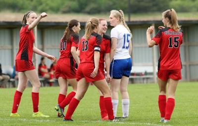 Somerset celebrates goal