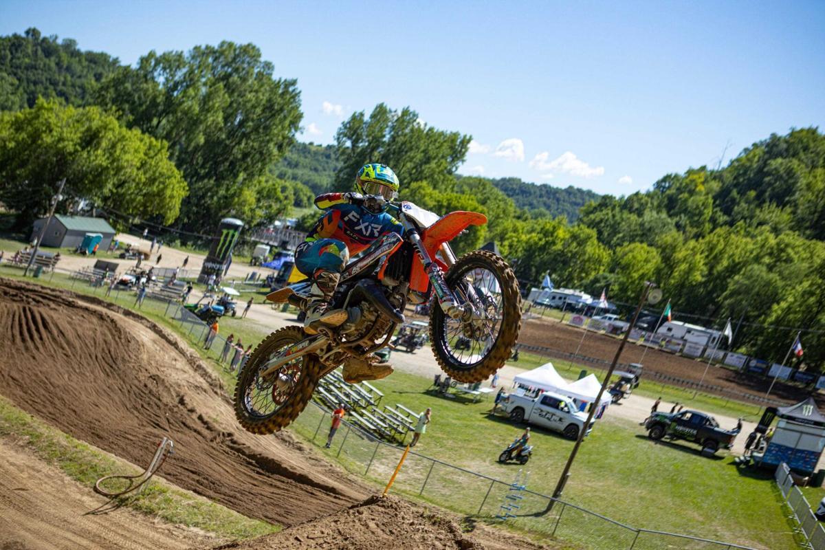Brodie Boumeester taking flight