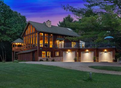Unique Hudson, Wis. house for sale