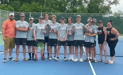 New Richmond's boys tennis team