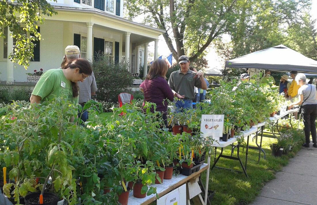Octagon House Master Gardener sale.jpg
