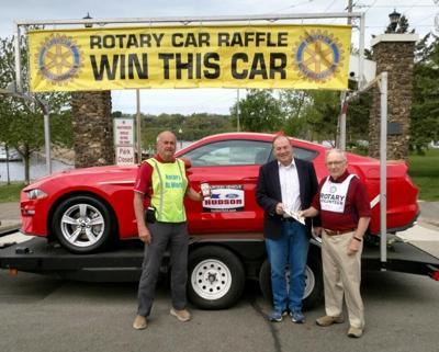 Hudson Rotary car raffle