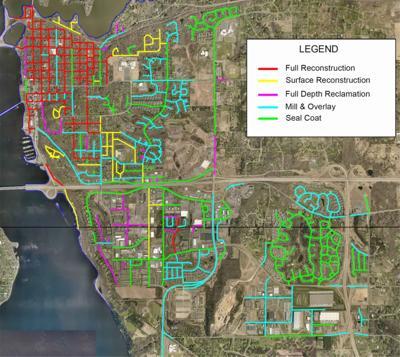 Hudson infrastructure work map