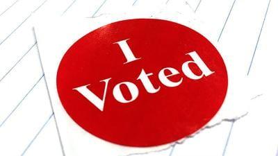 I voted sticker RTSA