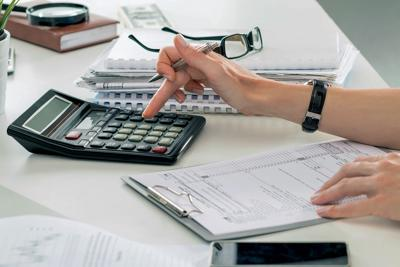 Income tax paperwork