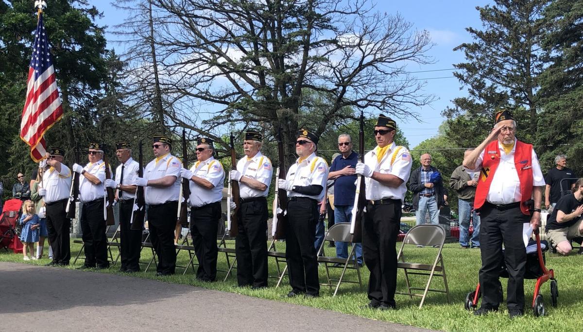Hudson Memorial Day 2021 Honor Guard