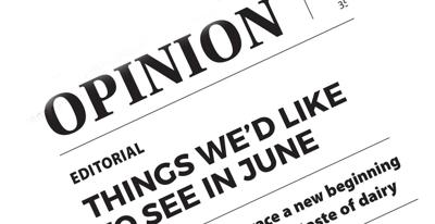 Editorial: Things we'd like to see in June