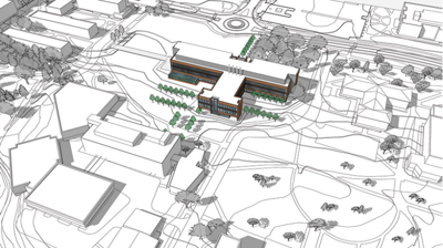 University of Wisconsin-River Falls SciTech sketch