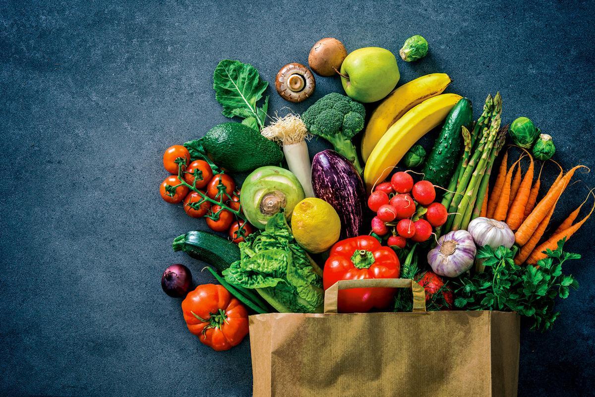 Fresh produce RTSA paper bag