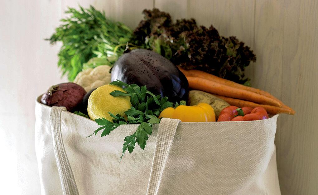 Fresh produce RTSA earth friendly bag