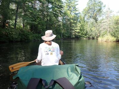 Canoeing the Namekagon Riber