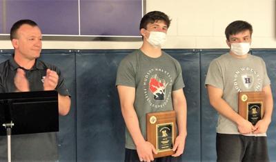 Hudson wrestling announces team awards