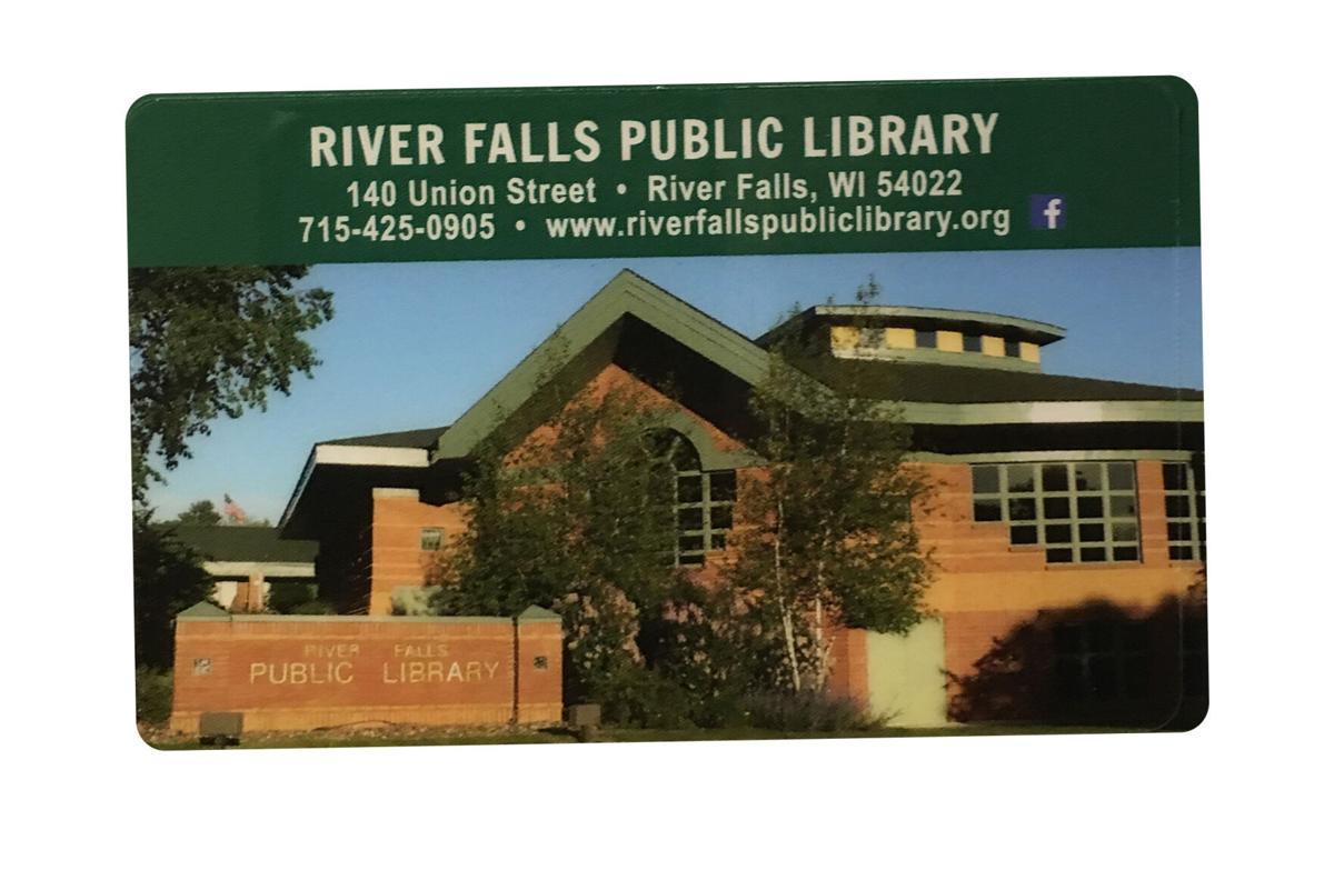 River Falls Public Library card