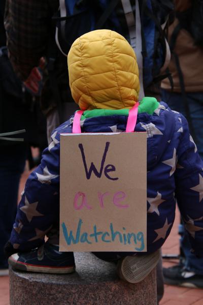 Monday, April 19 protest 5