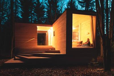 Airbnb off grid