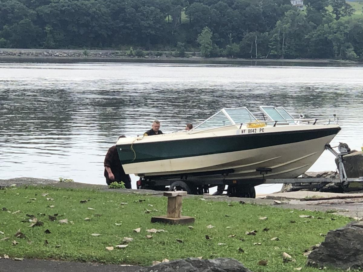 Catskill man rescued from sinking boat