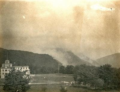 The deadly fire of August 10, 1900