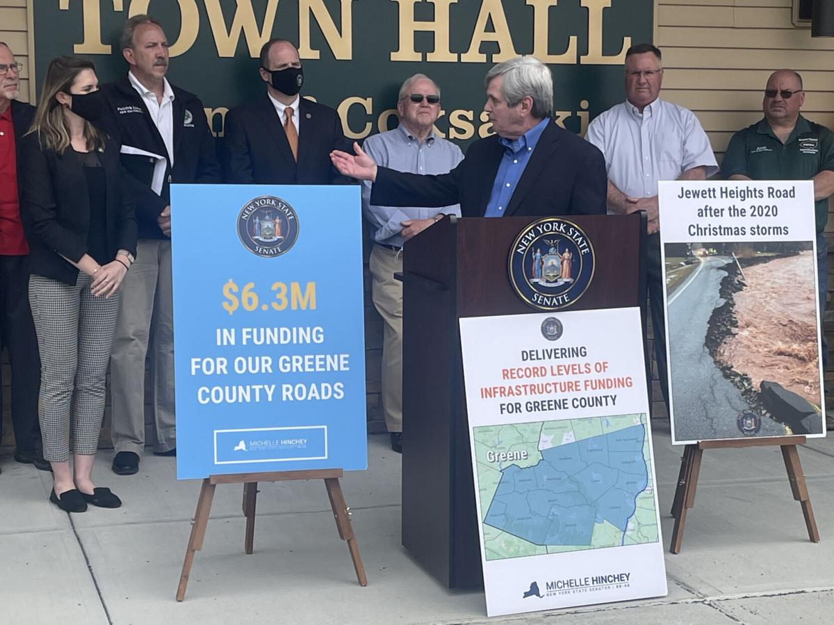 Greene to get $6.3M for road repairs, maintenance