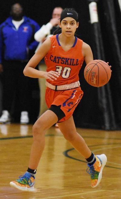 GIRLS BASKETBALL: Brantley drops 33 as Catskill rolls