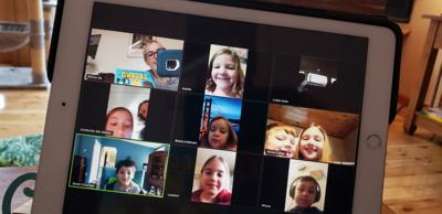 Students, teacher use technology to achieve distance learning