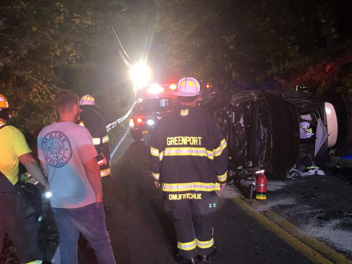 Two injured in separate Columbia County accidents