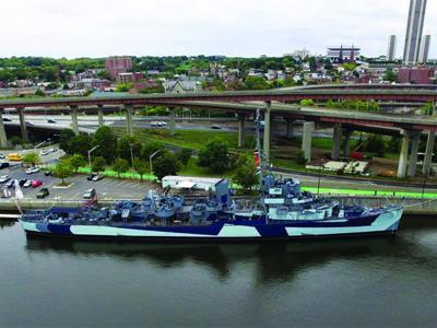 USS SLATER celebrates Navy Birthday