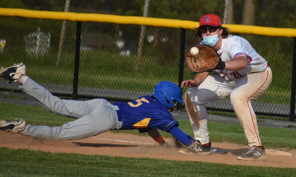 H.S. BASEBALL: Sixth-inning rally lifts Hudson over Maple Hill