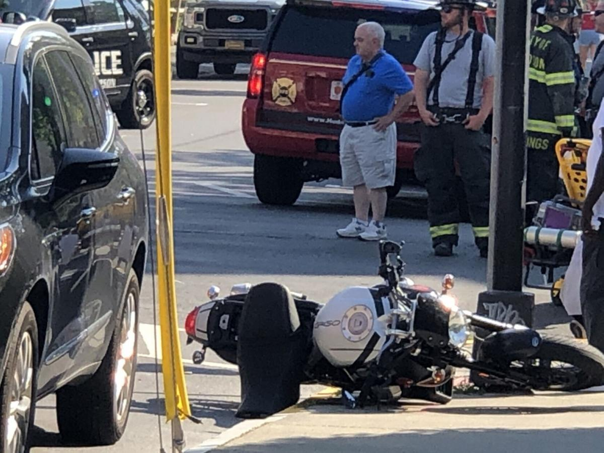 Hudson accident sends motorcycle operator to CMH