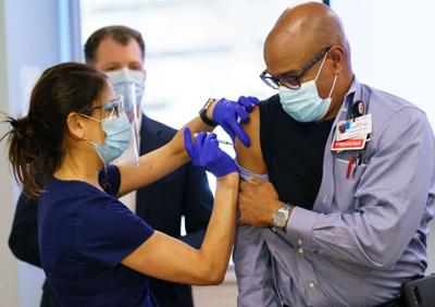 COVID vaccines mandated for all NY health workers