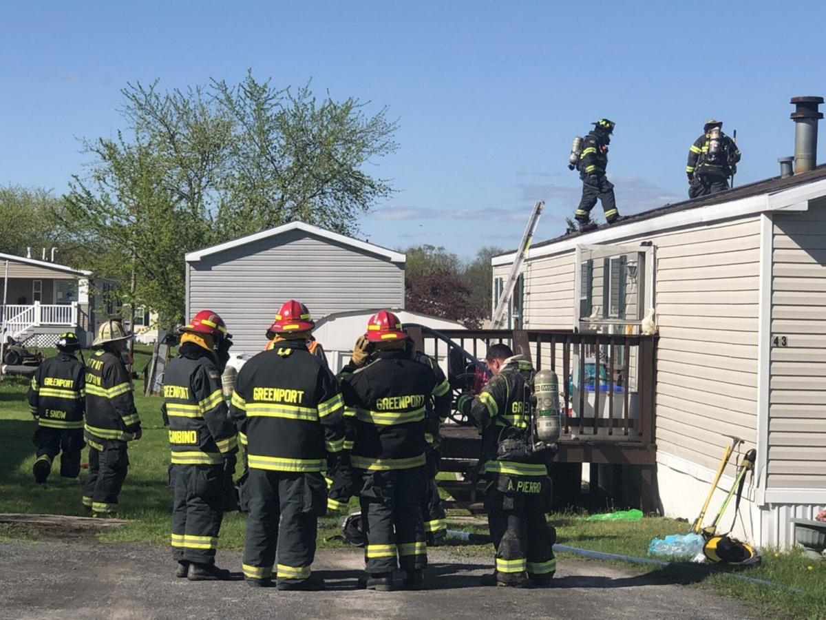 Greenport family homeless after fire