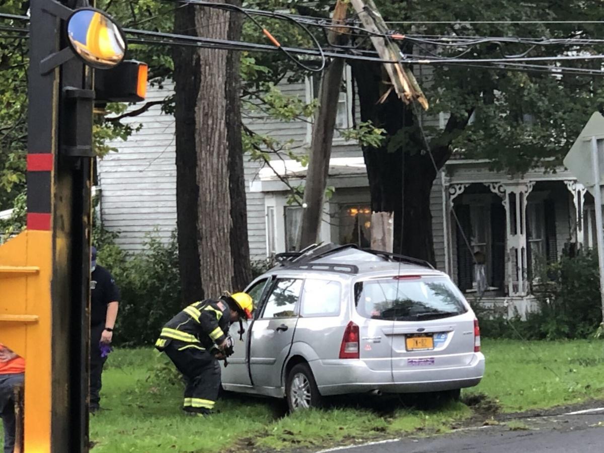 Police: Claverack woman, 98, injured in crash