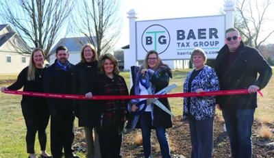The Baer Tax Group holds ribbon cutting