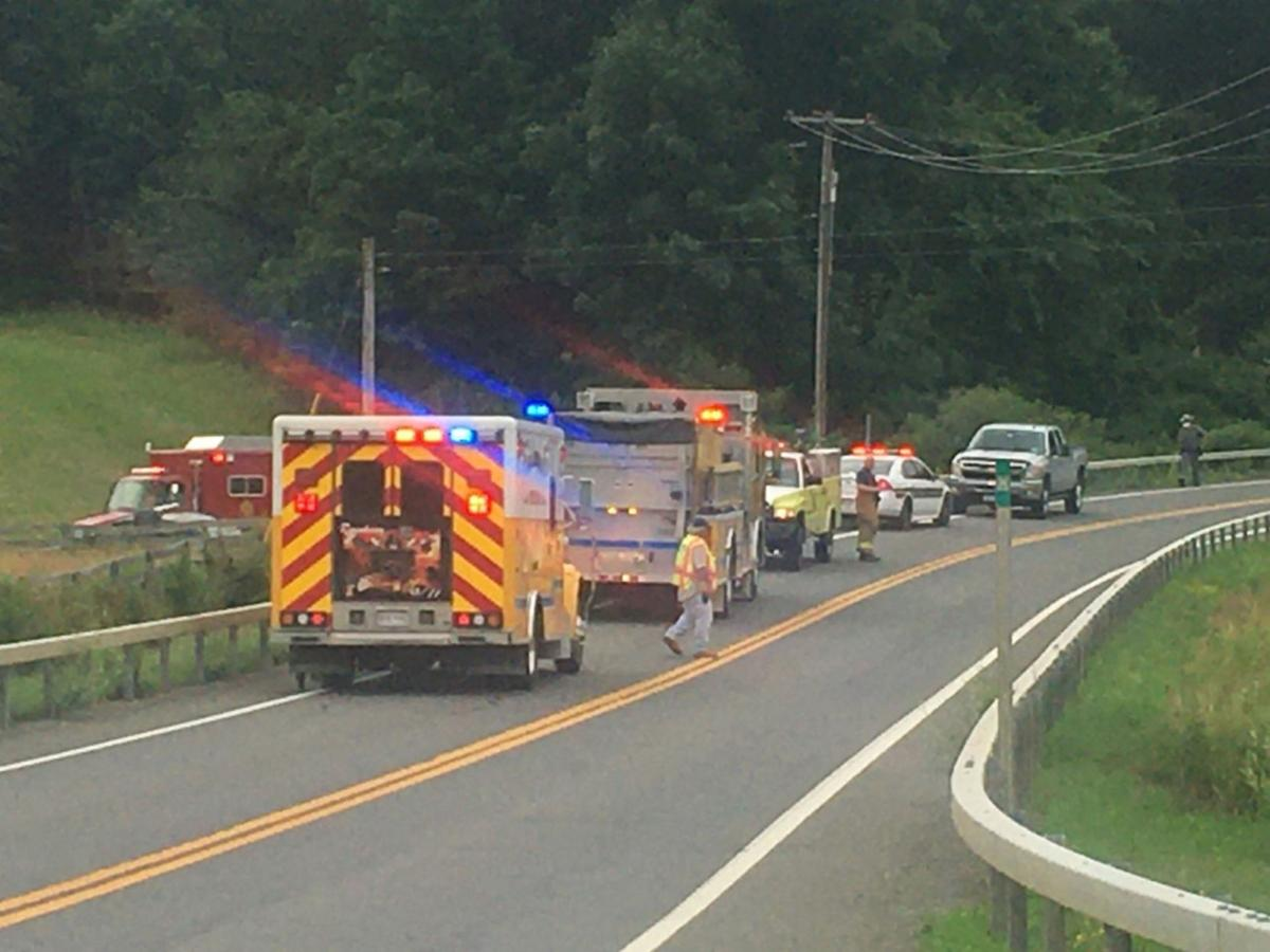 Woman airlifted after Copake accident