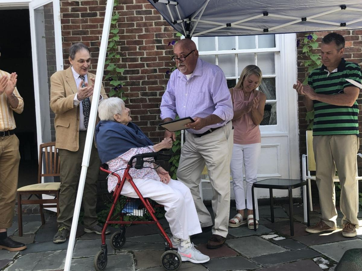 Third Chatham resident hits 100 at retirement home