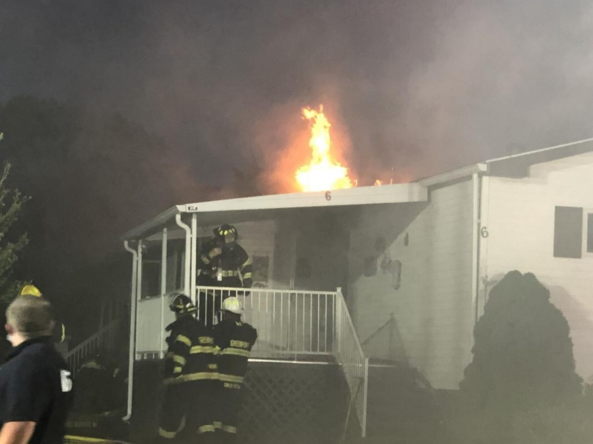Fire hits 2nd mobile home in 3 weeks