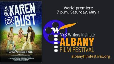 An Albany Film Festival featured event scheduled for Saturday, May 1.