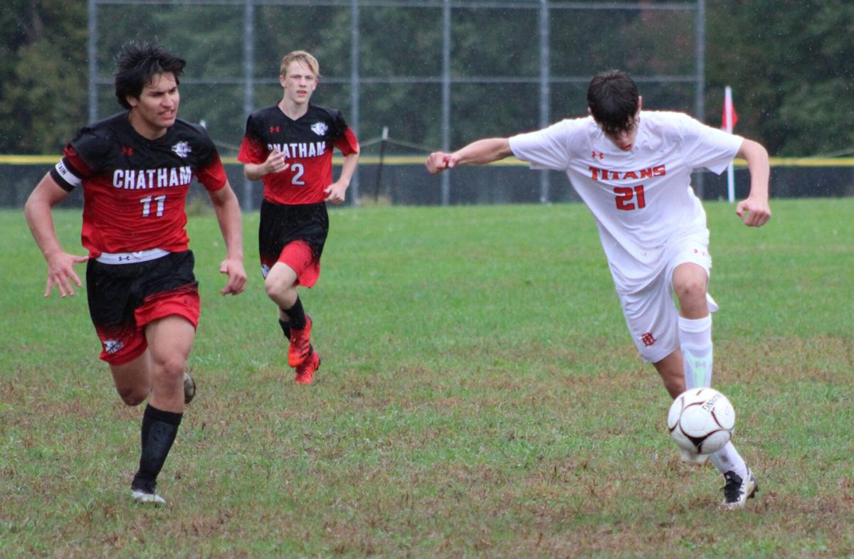 LOCAL ROUNDUP: Jeralds' hat trick sparks Chatham