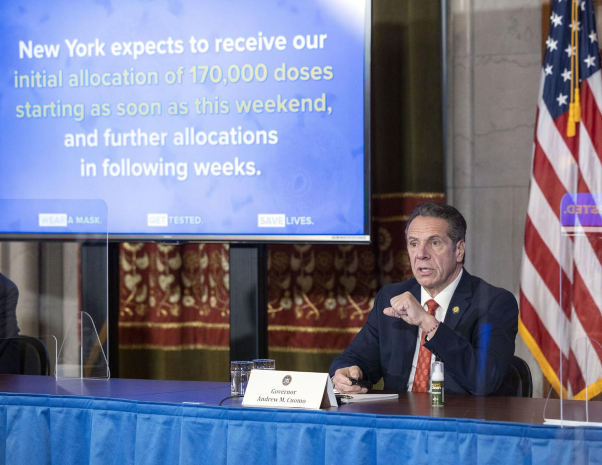 Initial NY vaccine dosages to arrive in coming days