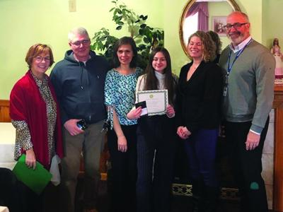 Coxsackie-Athens Middle School December Student of the Month