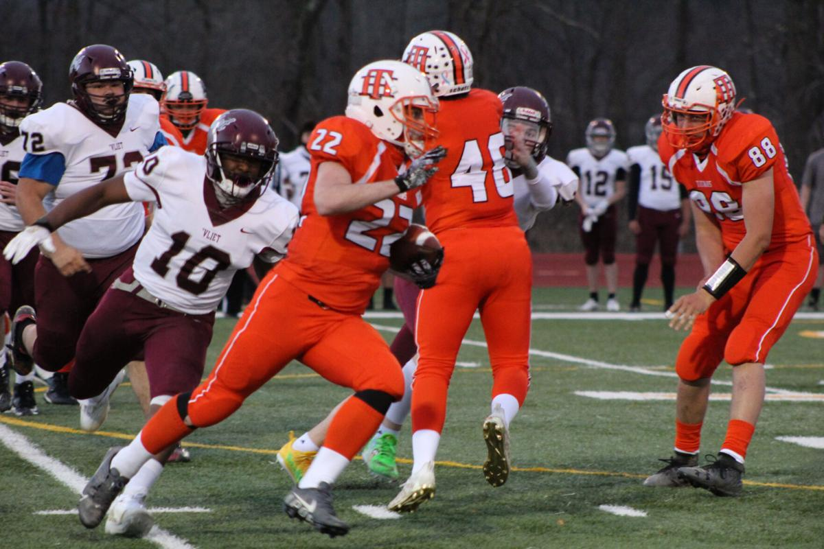 H.S. FOOTBALL: Cannoneers too much for the Titans; Hudson, ICC post victories