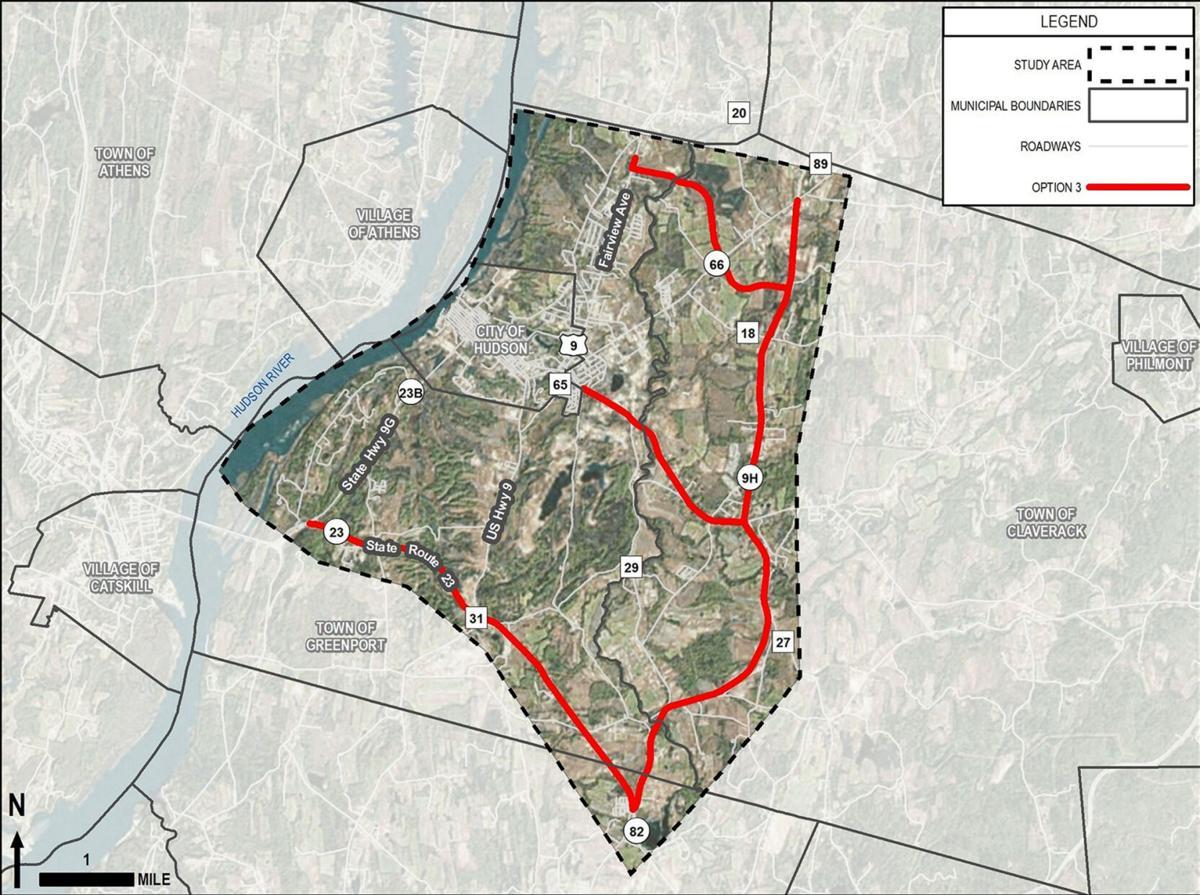 Truck survey respondents identify preferred routes through Hudson