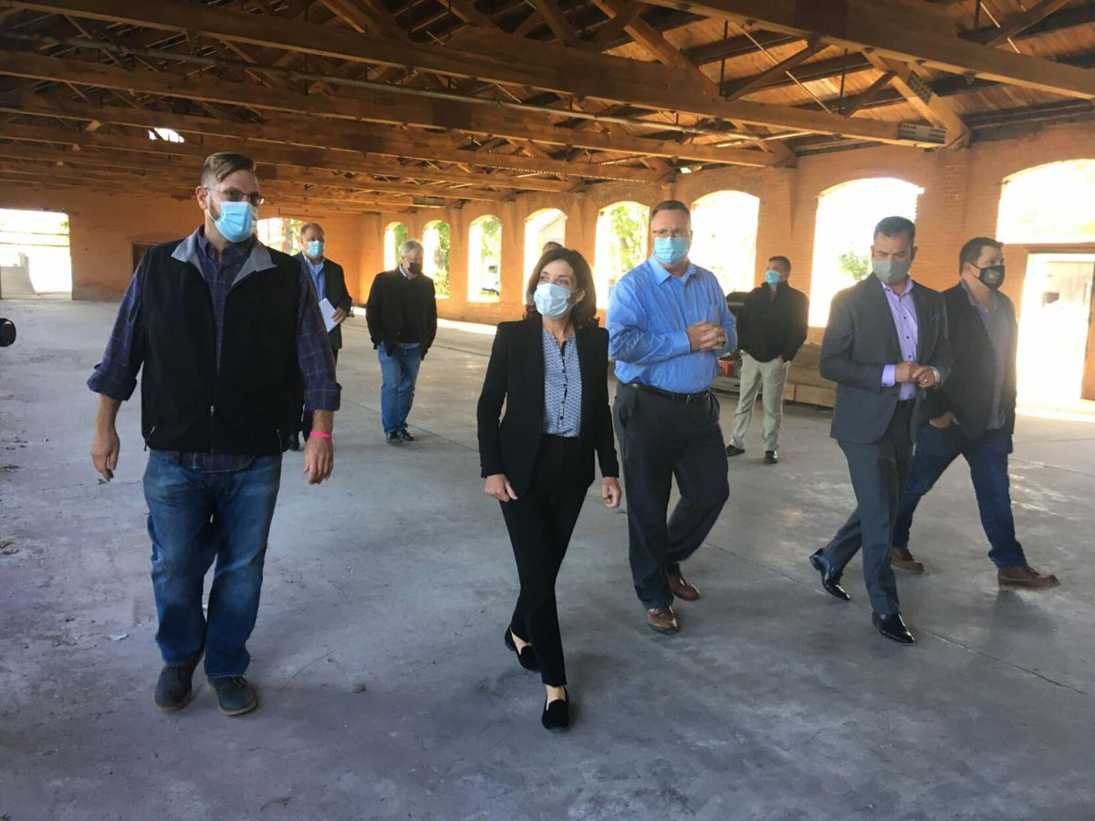 Hochul visits South River Street project