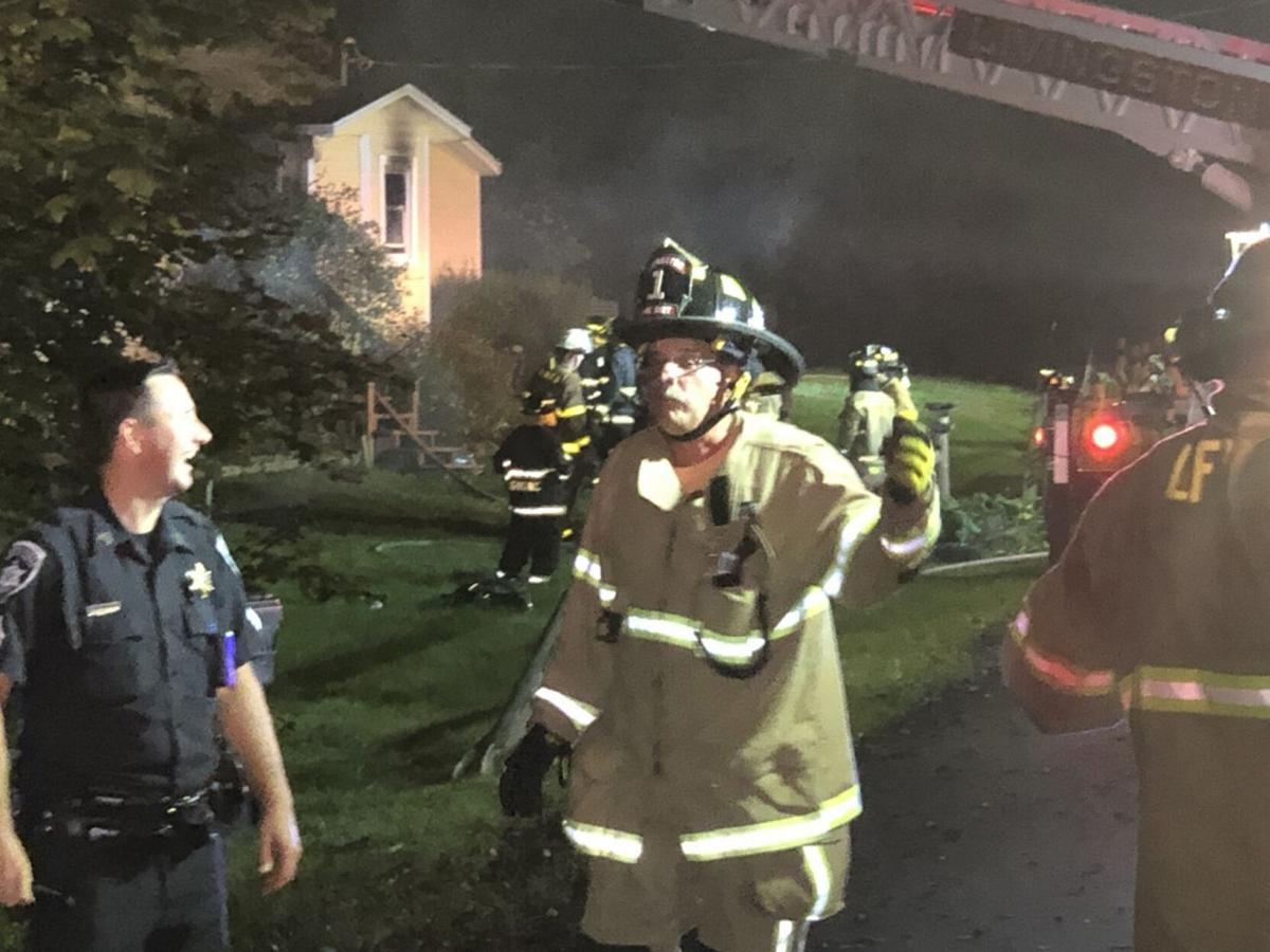 Livingston family homeless after fire