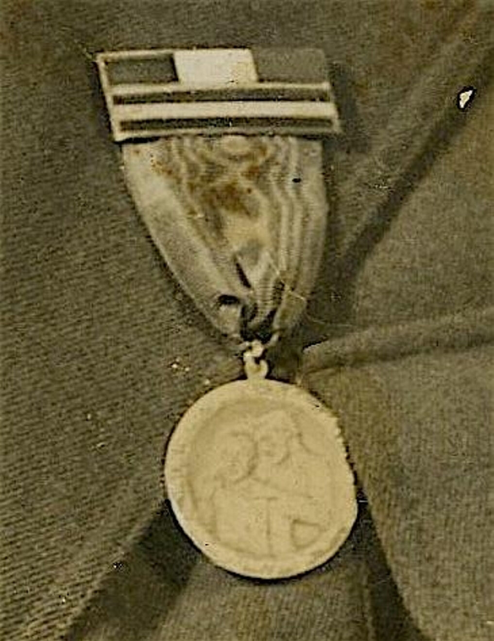 Police search for missing medal